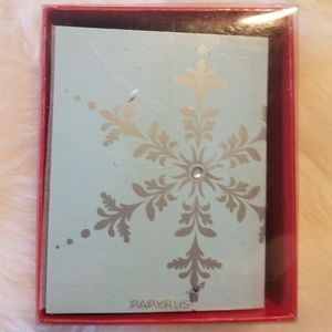 Paprus Holiday Cards 20 & 20 Envelopes New